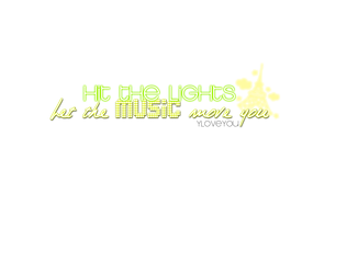 Hit the lights PNG by BieberLoveEdittions
