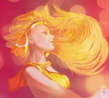 Galaxia (Sailor Moon characters) by tashamille