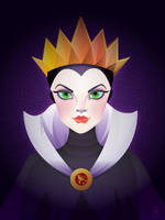 The Evil Queen - Snow White by tashamille