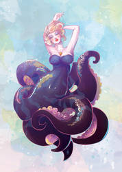 Ursula Mermaid by tashamille