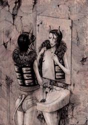 well-kept bathroom by Eskaite