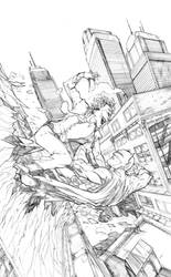 Batman and Joker by Harpokrates