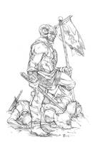 Bjorn Ironside ~ Dungeons and Dragons by Harpokrates