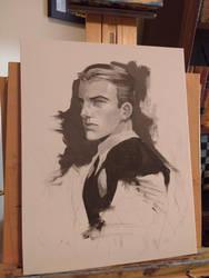 Bruce Wayne Portrait by Harpokrates