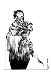 Inktober 'Poisonous' Sketch by Harpokrates