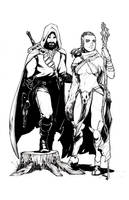 Ranger and Druid Commission by Harpokrates