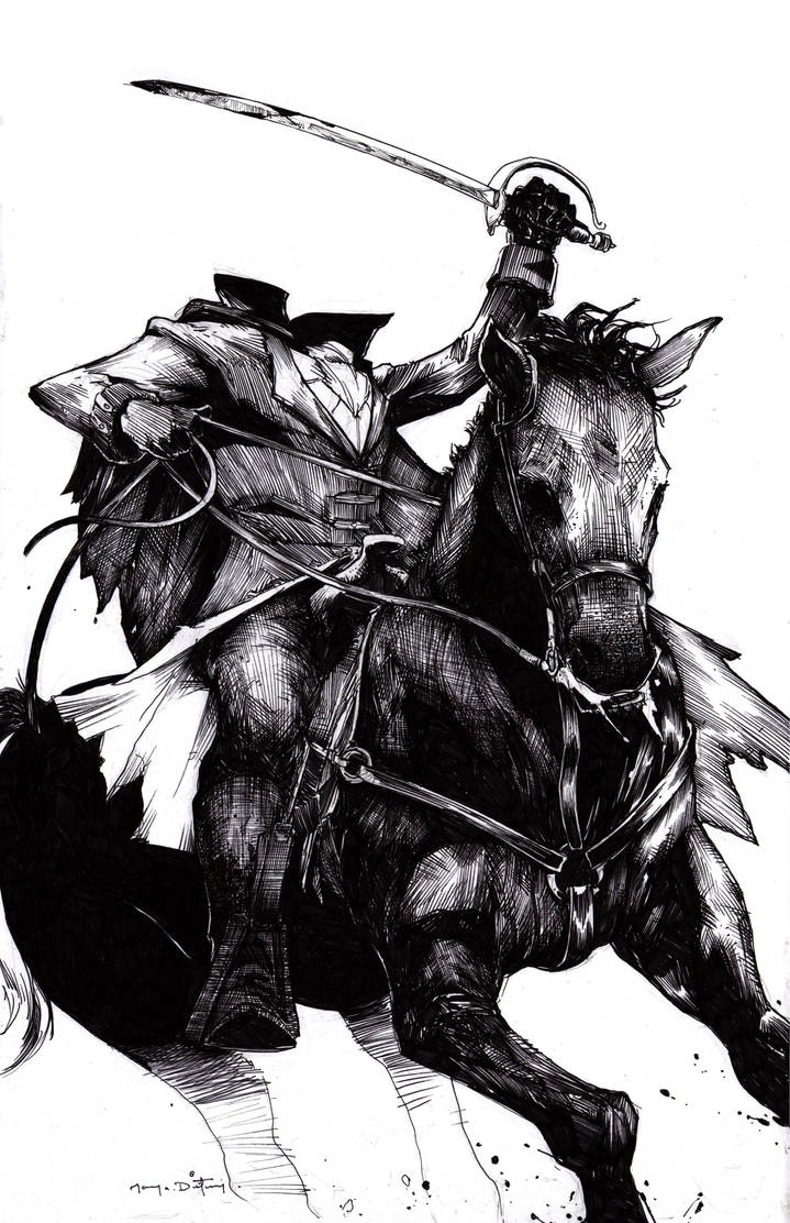 Headless Horseman Commission by Harpokrates