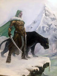 Drizzt Do'Urden Commission by Harpokrates