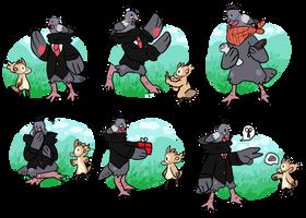 [[ Mr. Pigeon - Beania Registration ]] by XKSilver