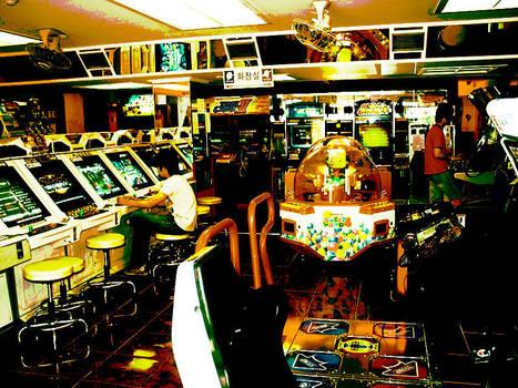 Korean Arcade by Eihwatz