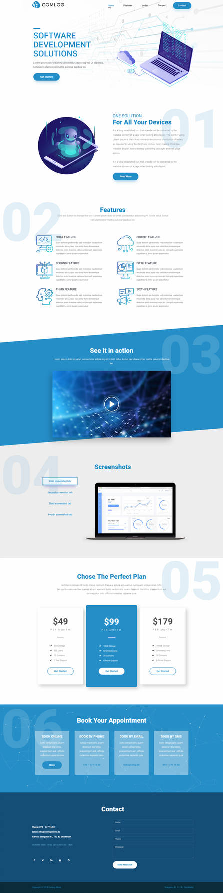 Homepage-comlog by daarster
