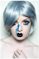 she is so blue by mishkamink
