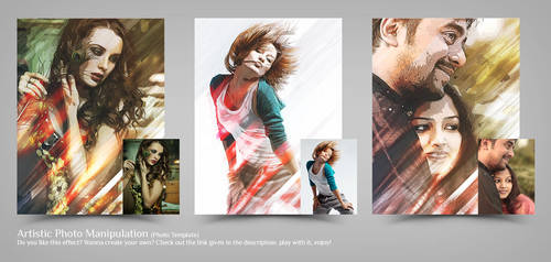 Artistic Photo Manipulation (Photo Template) by Shemul