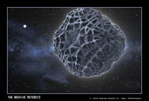 the beehive asteroid by fraterchaos