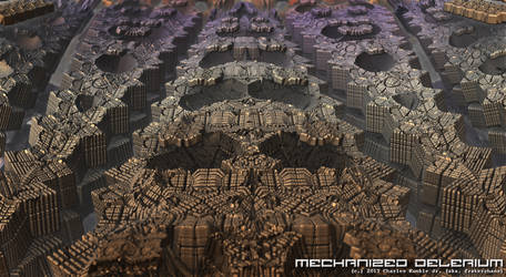 mechanized delerium by fraterchaos