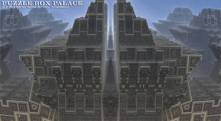 puzzle box palace by fraterchaos