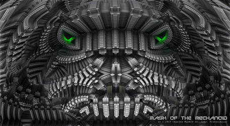 mask of the mechanoid by fraterchaos