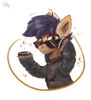 Cool pony by Amy-Gamy