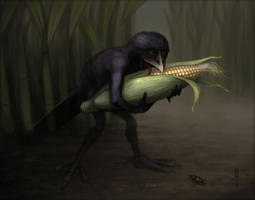 Cornthief by nilwill