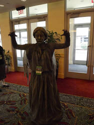 Connecticon 2012 Weeping Angel by Yuutachi