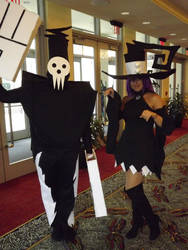Connecticon 2012 Death and Blair by Yuutachi