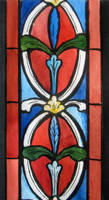 Etudes for stained glass IV. 2009 by Yudaev