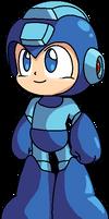 MegaMan by Bunnyash890