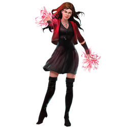 Scarlet Witch by cptcommunist