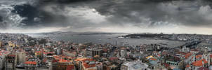 Istanbul from Galata Tower... by dorukseymen