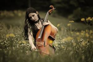 Violoncellist III by dorukseymen