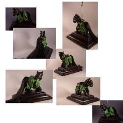 Black Dragon Knight by xXPaintedxPonyXx