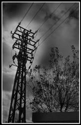 High Voltage Tower by NacionalistAutonomo