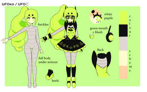 [2016] UFOko Reference by kittidere