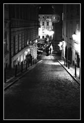 Prague at night by roomzeiss