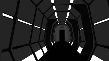 Straight Corridor 1 by count23