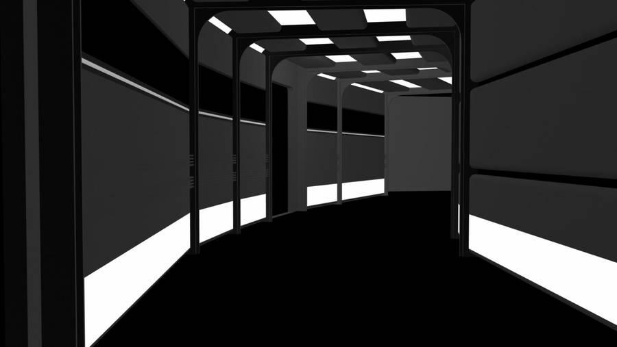 Sickbay Corridor Segment 2 by count23