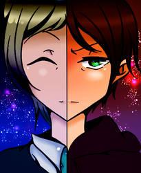 [OC] Haru Drachen and Michi Ryuzaki by Coolez