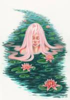 Waterlily by KathrynWhiteford