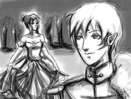 Here comes Cinderella by shiroixhato
