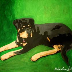 Rottweiler by MofuruChan