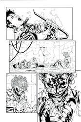 Red Hood 15 pg9 inks by JosephLSilver