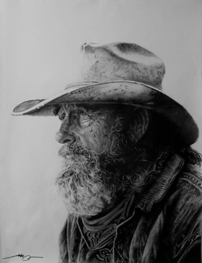 Old Cowboy by HCui