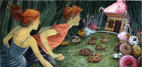 Hansel and Gretel by vdelrey