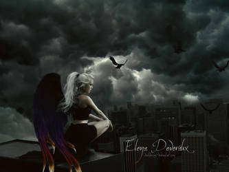 Elena The Guild Hunter by Dark-Voices