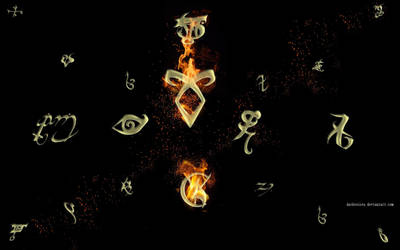 Wall Of Runes by Dark-Voices