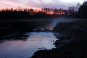 Nightfall by rosaarvensis