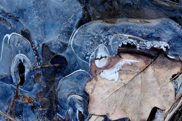 Blue ice by rosaarvensis