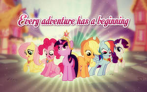 Every adventure has a beginning by SteffyO1992