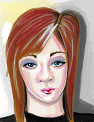 painted face by 7Lady7Maria7
