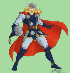 T is for Thor by jillybean200x